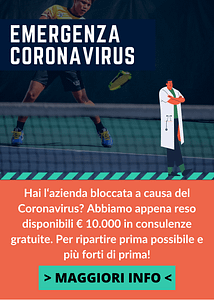 SMARTUP - Popup emergenza coronavirus