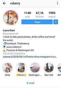 come vendere su instagram esempio di come creare una BIO efficace