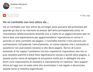recensione negativa italiaonline 1