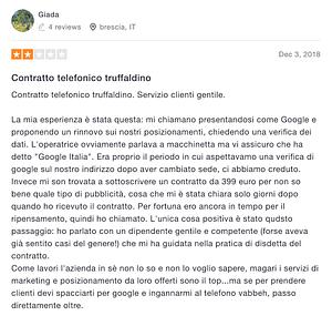 recensione negativa italiaonline 3recensione negativa italiaonline 4