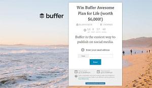 kingsumo software per aumentare la tua lista contatti dando un premio