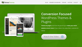 thrive themes conversion focus wordpress marketing