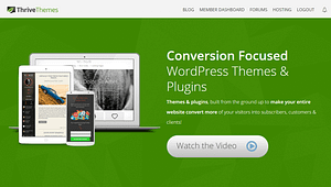 thrive themes conversion focus wordpress marketing