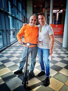 Andrea Pessotto insieme a Alfio Bardolla al Wake Up Call di Rimini