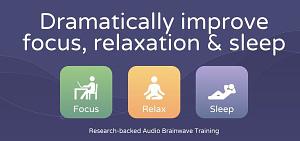brain.fm software per la produttività, concentrazione e per dormire meglio